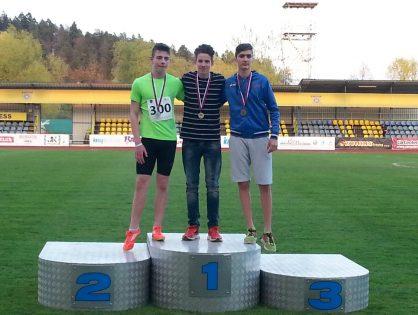 Simon uspešen v atletski reprezentanci do 16 let