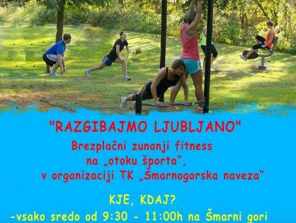 Brezplačni zunanji fitness
